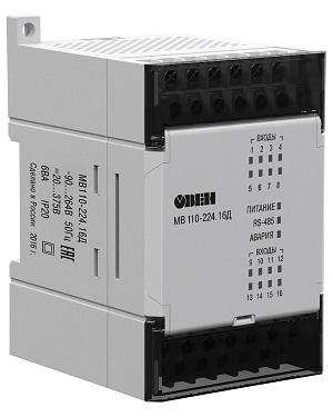 Модуль ввода-вывода МВ110-16Д  ОВЕН